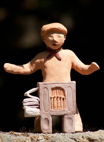 orgue de Barbarie en animation de rue