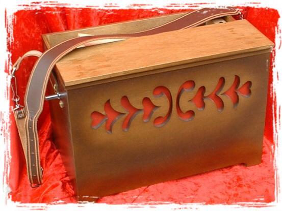 orgue de Barbarie portatif 27 touches à anches